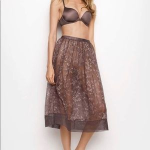 Victoria's Secret Lace Lingerie Skirt